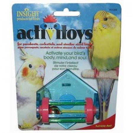 JW Insight Tumble Bell Bird Toy alternate img #1