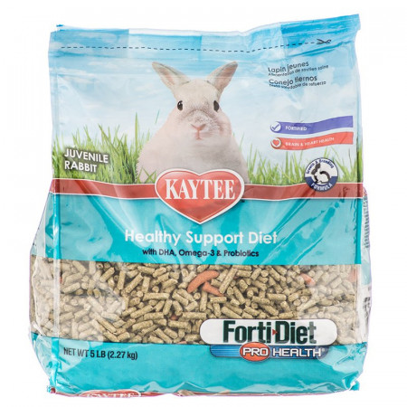 Kaytee Forti Diet Pro Health Healthy Support Diet Juvenile Rabbit alternate img #1