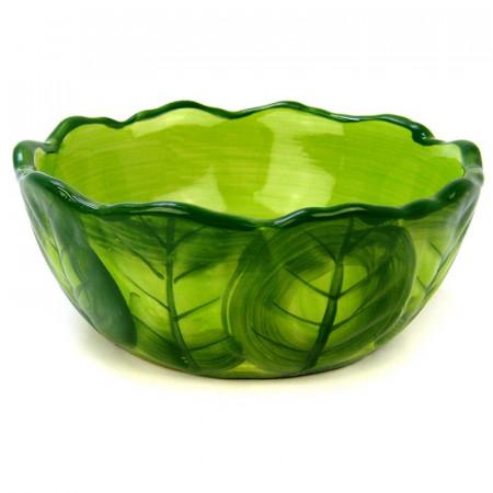 Kaytee Vege-T-Bowl Cabbage Medium Food Dish alternate img #2