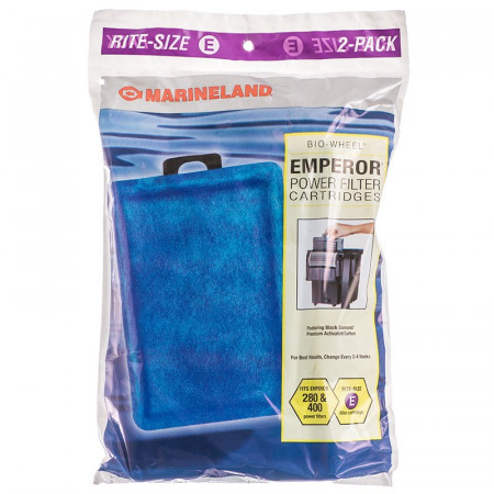 Marineland Rite-Size E Cartridge - (Emperor 280 & 400) alternate img #1