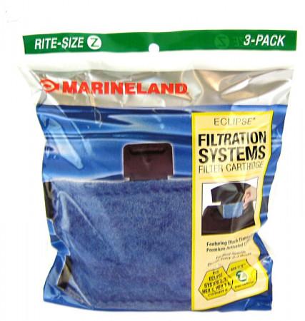 Marineland Rite-Size Z Cartridge - (Eclipse Explorer, System 2 & 3, Corner 5, Hex 5 & 7) alternate img #1