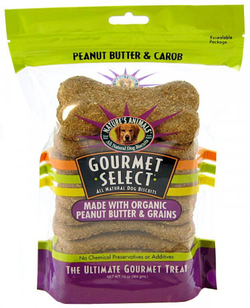 Natures Animals Gourmet Select Biscuits - Peanut Butter & Grains alternate img #1