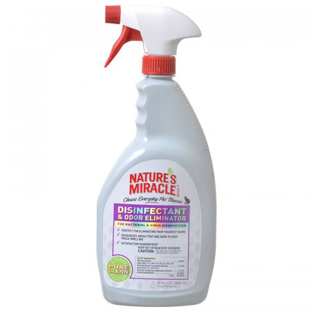 Natures Miracle Disinfectant & Odor Eliminator Spray alternate img #1