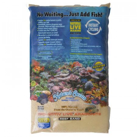 Natures Ocean Bio-Activ Live Aragonite Reef Sand - Australian Gold alternate img #1