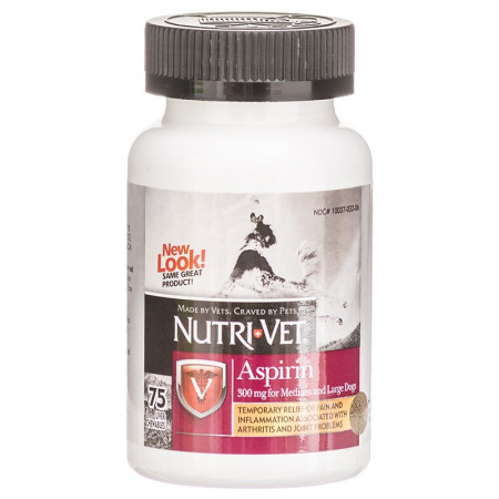 Nutri-Vet Aspirin for Medium and Large Dogs alternate img #1