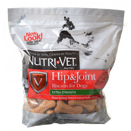 Nutri-Vet Hip & Joint Biscuits for Dogs - Extra Strength alternate img #1
