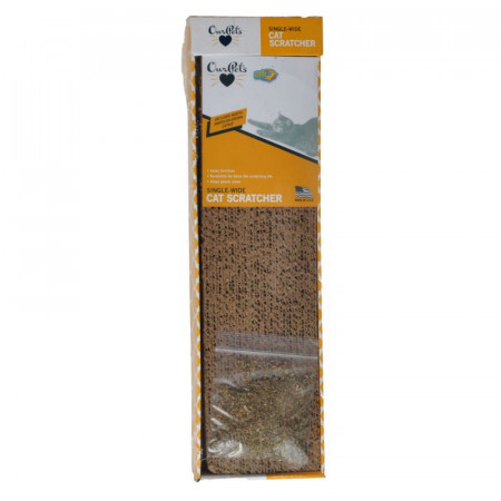 OurPets Cosmic Catnip Cardboard Straight and Narrow Cat Scratcher alternate img #1