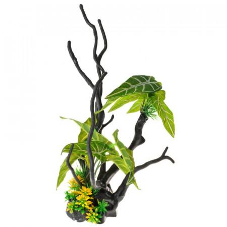Penn Plax Driftwood Plant - Green - Tall alternate img #1