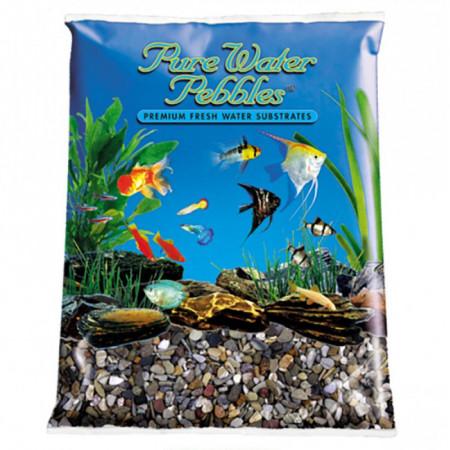 Pure Water Pebbles Aquarium Gravel - River Jack alternate img #1