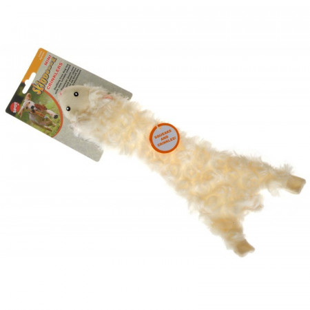 Skinneeez Crinklers Lamb Dog Toy alternate img #1