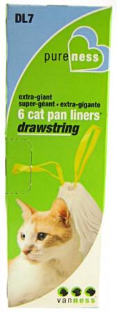 Van Ness PureNess Drawstring Cat Pan Liners Extra Giant alternate img #1