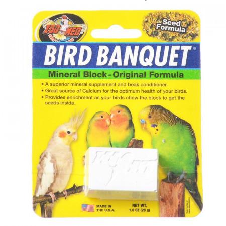 Zoo Med Bird Banquet Mineral Block - Original Seed Formula alternate img #1