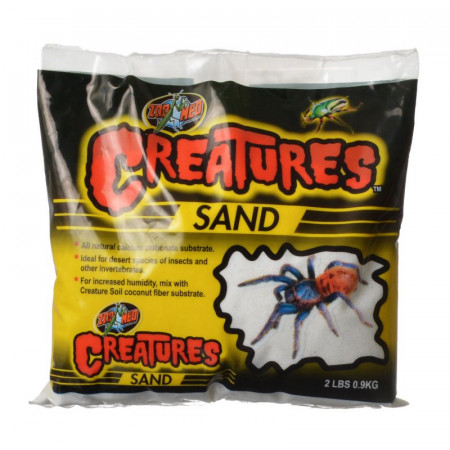 Zoo Med Creatures Sand - White alternate img #1