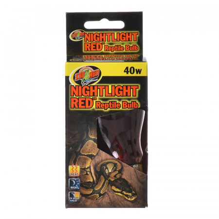 Zoo Med Nightlight Red Reptile Bulb alternate img #1