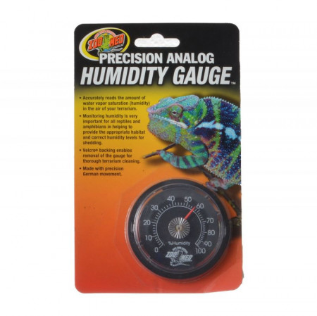 Zoo Med Precision Analog Reptile Humidity Gauge alternate img #1