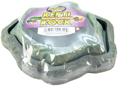 Zoo Med Repti Rock Reptile Food & Water Dishes - Assorted Colors alternate img #1
