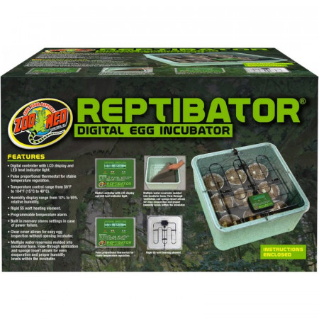 Zoo Med ReptiBator Digital Egg Incubator alternate img #1