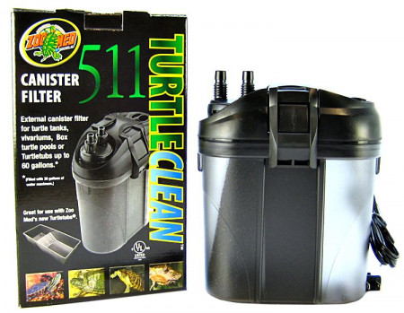 Zoo Med Turtle Clean 511 Canister Filter alternate img #1
