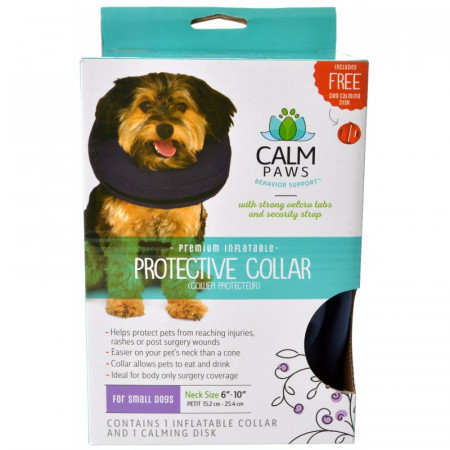 Calm Paws Premium Inflatable Protective Collar alternate img #1