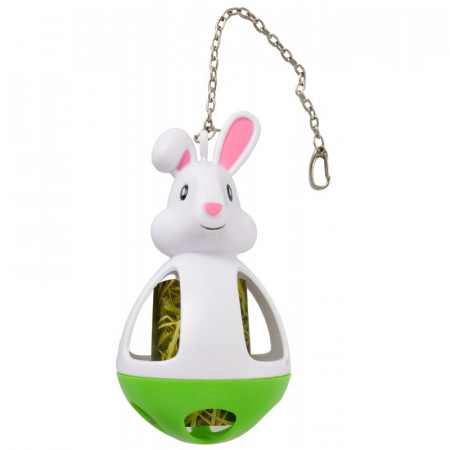 Kaytee Play-N-Hay Hay & Treat Dispenser Rabbit Toy alternate img #1