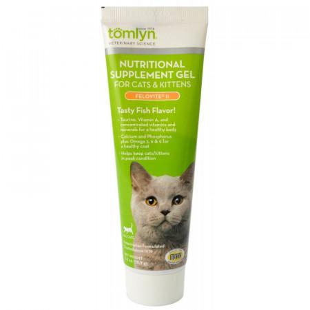 Tomlyn Felovite II Nutritional Supplement Gel for Cats and Kittens alternate img #1