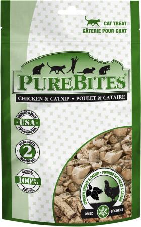 PureBites Chicken Breast and Catnip Freeze Dried Cat Treats alternate img #1