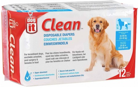 DogIt Clean Disposable Diapers for Dogs X-Large alternate img #1