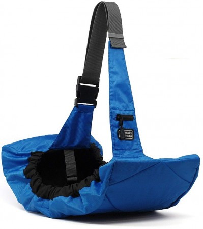 Outward Hound Pooch Pouch Sling Pet Carrier Blue alternate img #3