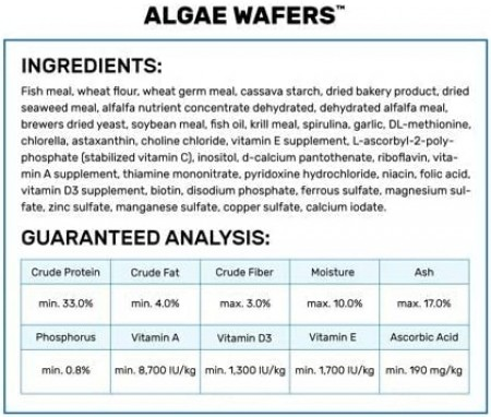 Hikari Algae Wafers Sinking Vegetable Rich Wafers alternate img #3
