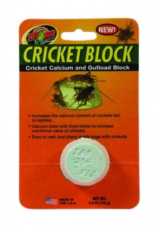 Zoo Med Regular Cricket Blocks Gut load Block alternate img #1