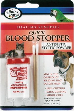 Four Paws Quick Blood Stopper Antiseptic Styptic Powder alternate img #1