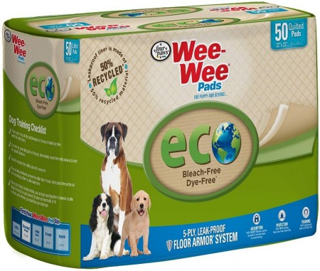 Four Paws Wee Wee Pads Eco Pee Pads for Dogs alternate img #1
