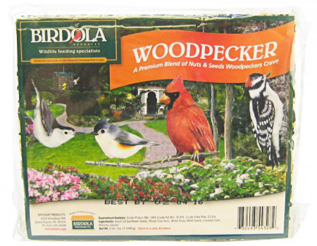 Birdola Woodpecker Seed Cake alternate img #1