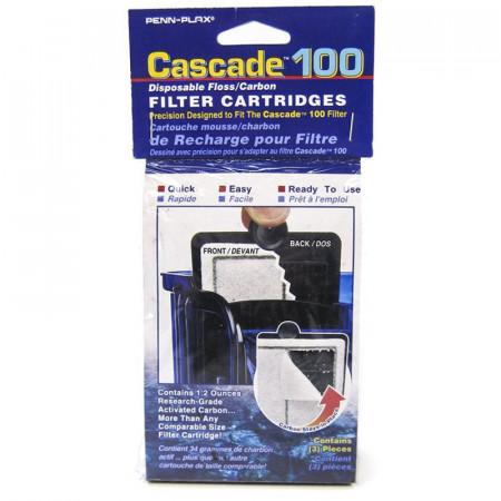 Cascade 100 Power Filter Disposable Floss/Carbon Filter Cartridge alternate img #1