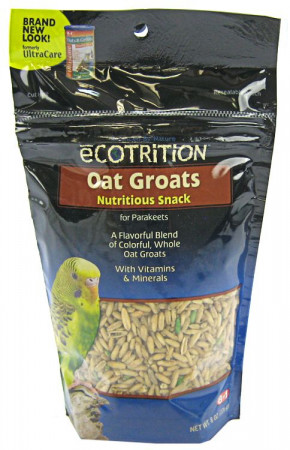 Ecotrition Oat Groats Nutritious Snack for Parakeets alternate img #1