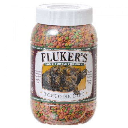 Flukers Land Turtle Formula Tortoise Diet - Small Pellet alternate img #1