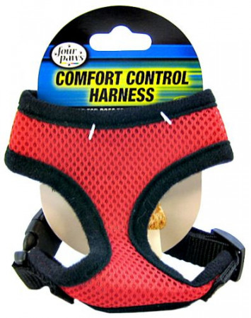 Four Paws Comfort Control Harness Red alternate img #1