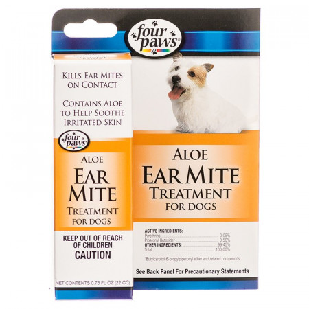 Four Paws Ear Mite Remedy for Dogs alternate img #1