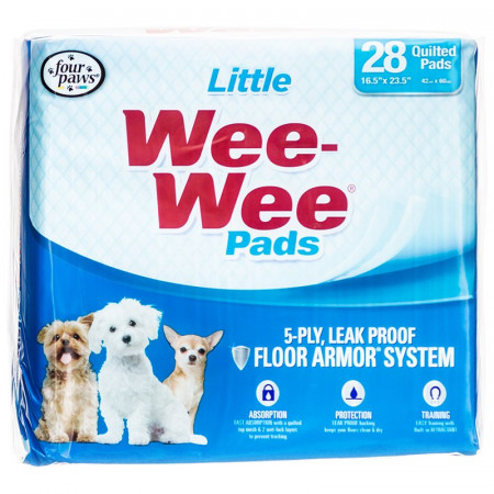 Four Paws Little Wee Wee Pads alternate img #1