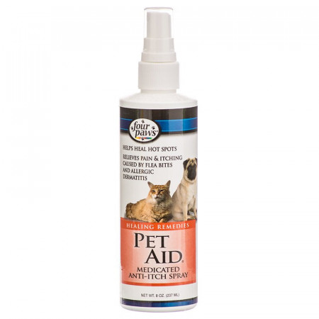 Four Paws Pet Aid Medicated Anti-Itch Spray alternate img #1