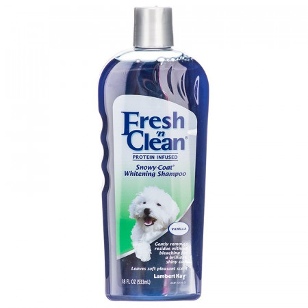 Fresh 'n Clean Snowy Coat Whitening Shampoo - Sweet Vanilla Scent alternate img #1