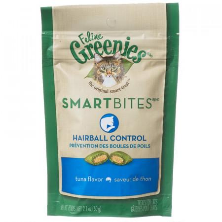 Greenies SmartBites Hairball Control Cat Treats - Tuna Flavor alternate img #1