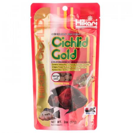 Hikari Cichlid Gold Floating Large Pellet Food alternate img #1