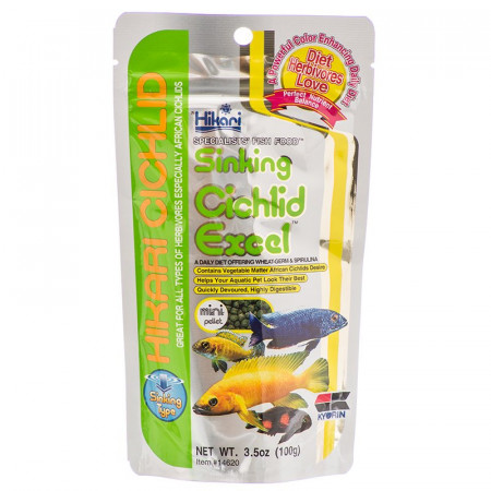 Hikari Sinking Cichlid Excel Mini Pellet Food alternate img #1