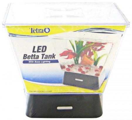 Tetra LED Betta Tank with Base Lighting - 1 Gallon alternate img #1