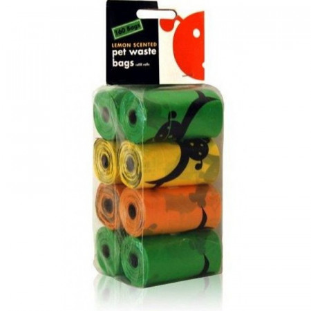 Lola Bean Pet Waste Bag Refill Rolls- Lemon Scent alternate img #1
