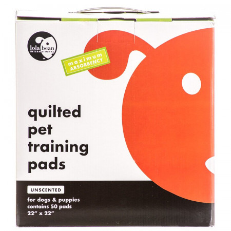 Lola Bean Quilted Pet Training Pads Unscented Large alternate img #1