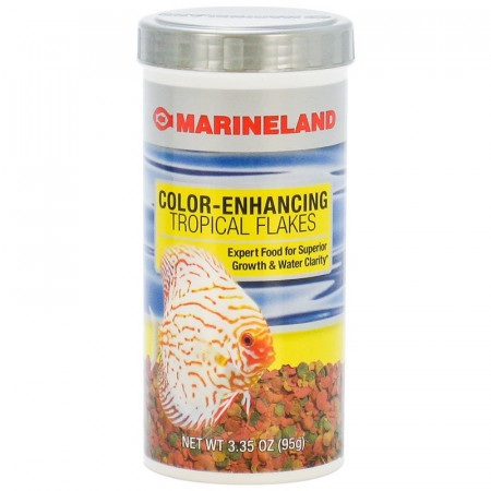 Marineland Color-Enhancing Tropical Flakes alternate img #1
