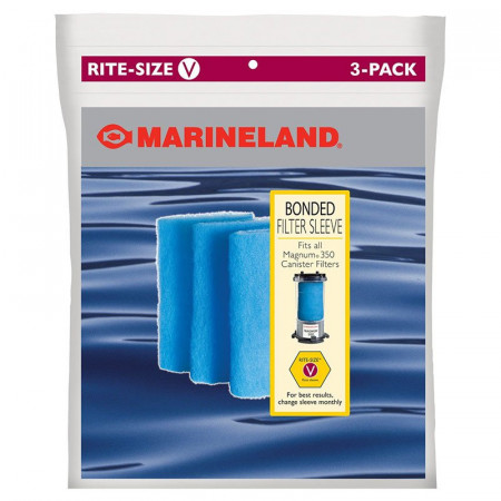 Marineland Rite-Size V Bonded Filter Sleeve alternate img #1