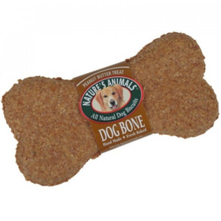 Natures Animals Dog Bone Biscuits - Peanut Butter alternate img #1